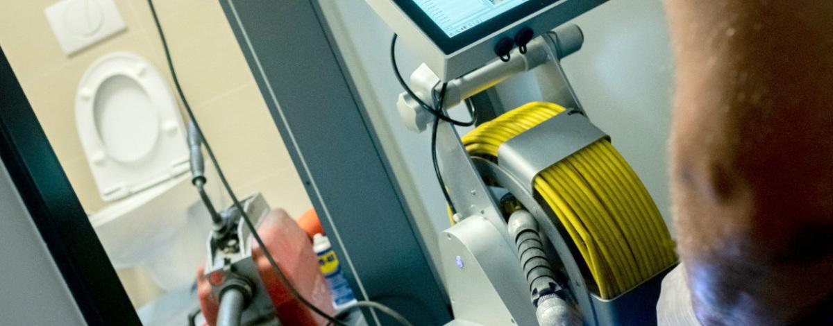 Abflusshilfsdienst - Kamerainspektion